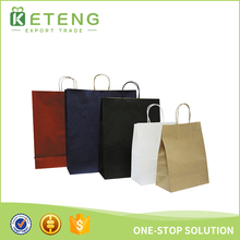 China New Product Custom Logo Paper Storage Bag Planter