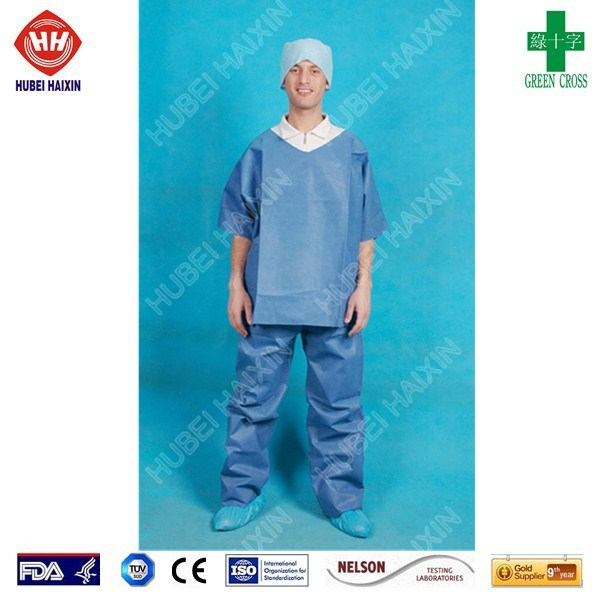 Disposable operation clothing health surgical gowns