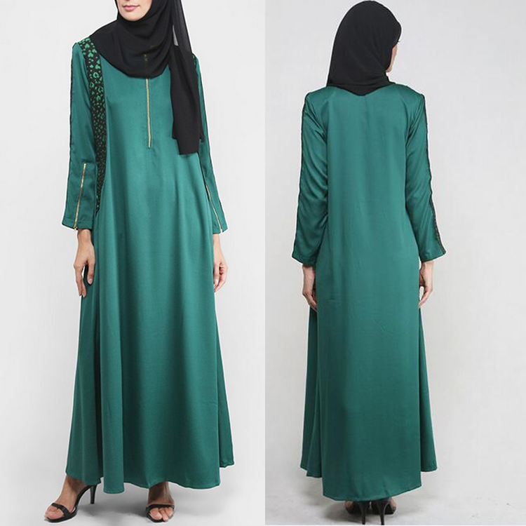 Elegant muslim clothing jubah muslimah dress