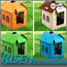 New design corrugated sheet dogs house