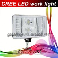 new model led working light tiger head lamp