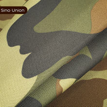 Wholesale China supplier waterproof camoflage poly oxford fabric