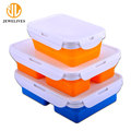 Silicone Lunch Box For Adults 3 Compartment Food Container Set