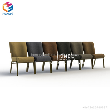 Popular Wholesale stacking metal buy church bench