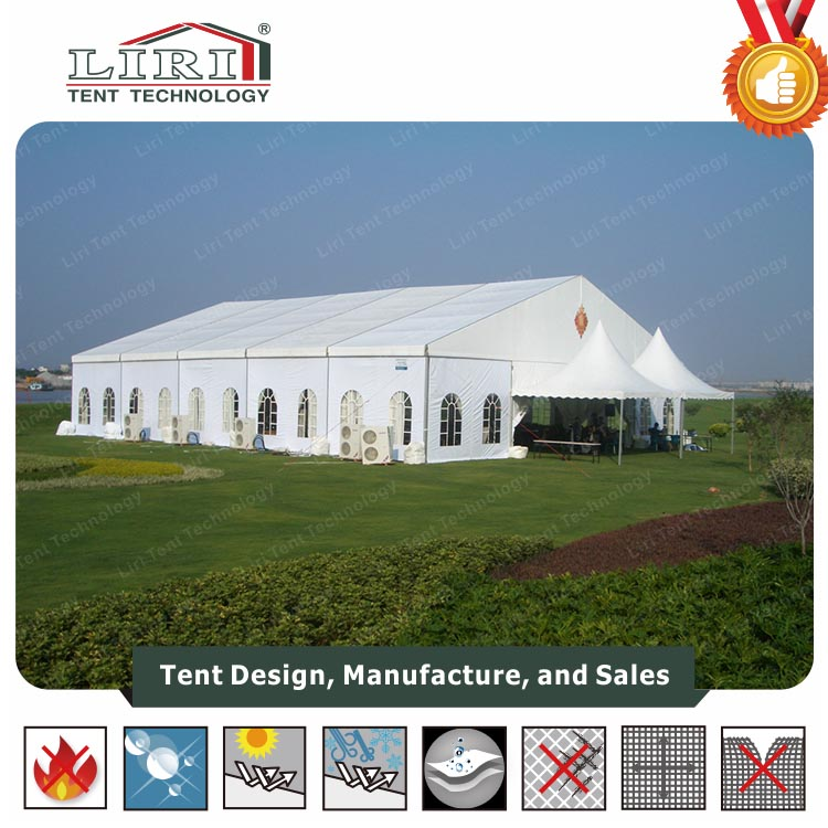 Anti-UV large White Tents for Outdoor Party Wedding
