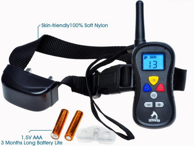 Advance 300 Yard Battery Remote Shock Vibration Collar Peted Dog Slave Shock Collar