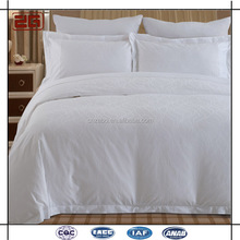 Elegant 5 Star Guangzhou Supplier White Used Hotel Bed Sheets/Flat Sheet/Fitted Sheet/Pillowcases