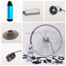 "16"" 26"" 28"" 700C Front/Rear Wheel 36v 250w Brushless Hub Motor Ebike Kit for Electric Bicycle Kit with Lithium Battery"