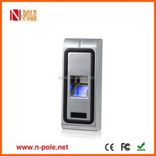 Waterproof IP65 Metal standalone Fingerprint access controller with USB
