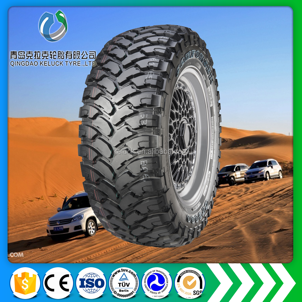 offroad mud terrion MT suv neumatico PCR 225/75R16LT 265/75R16LT CF3000 China factory car tyre vehicles