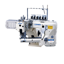 new style single cutter flatlock coverstitch sewing machine