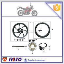 Original factory parts high quality 200cc motorcycle accessoriesfront wheel for UM brand motorbike