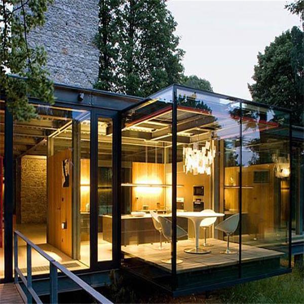 Guangzhou hjx glass sun rooms aluminum frame sunroom buy for Garden glass room