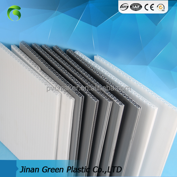 Green 2017 PP Material corrugated plastic/pp hollow <strong>sheet</strong>