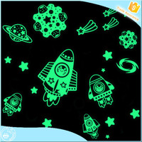 Hot sale vinyl sticker,Custom car vinyl sticker,Cartoon glow in the dark sticker