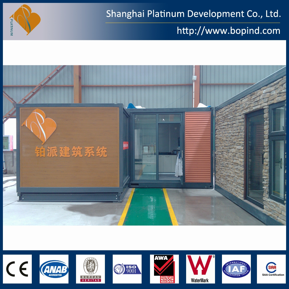 Prefabricated steel frame portable foldable house