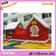 inflatable western christmas decorations santa