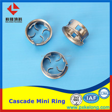 Stianless Steel Cascade Mini Ring / Ladder Ring as Metal Random Packing