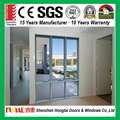 China supplier Australia commercial standard double tempered glass aluminum awning windows
