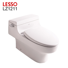 LESSO LZ1211 new design S trap sanitary ware ceramic tile design toilet