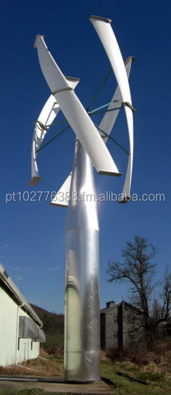 Vertical Axis Maglev Wind Turbine