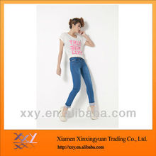 Fashion Blue Tight Jeans Women Wholesale in 2012