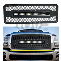 2011-2016 F250 Black Billet Vent Car Grille Emblem Made In The NOVA-AUTO