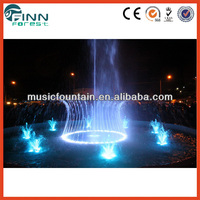 led Light and Music garden fountain water pumper pumps