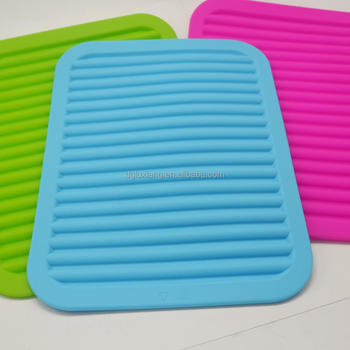 Best selling Silicone cup mat Rubber Hot Pads Pot Holder Mat Heat Resistant Kitchen Utensils silicone baking mat