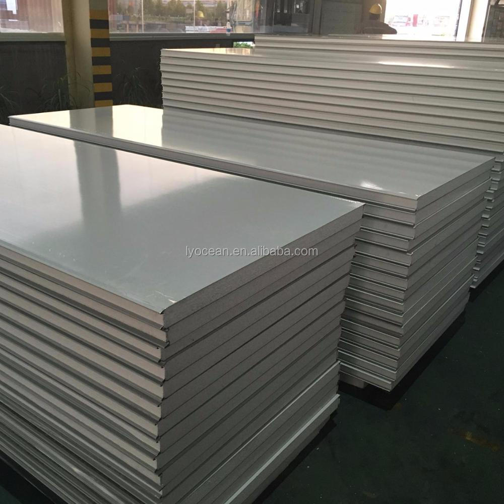Rigid Low Cost Cold Storage Insulated Panels For Wall Sandwich Panel