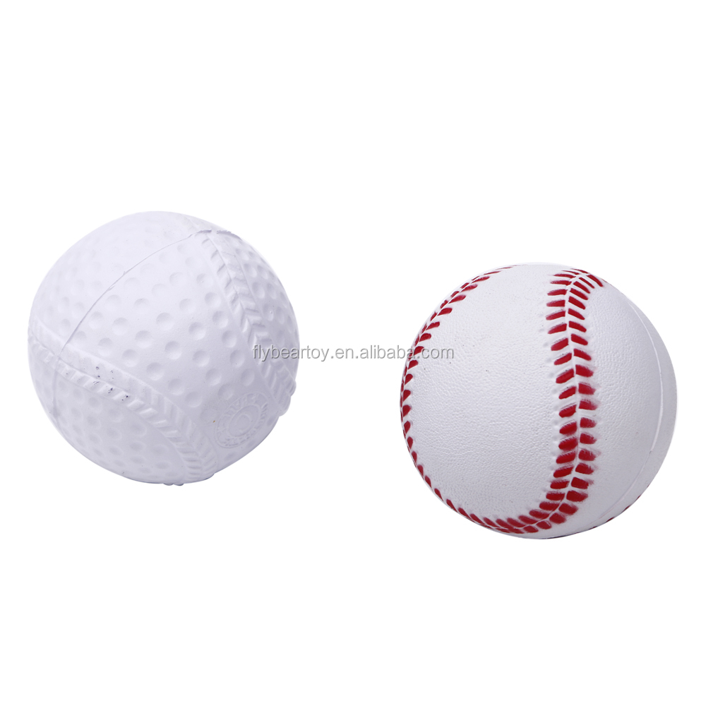 PU ball PU foam stress ball high quality PU baseball sports ball