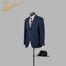 2017 Men unique custom business navy jacket for formal occasions