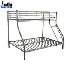 High quality double bunk metal triple deck bed
