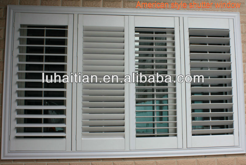 American style ventilation blinds,vinyl adjustable shutter