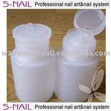 S-nail plastic pump bottle wholesale