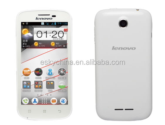 4.5'' 1.2GHz MSM8225Q Quad Core android 4.1 Dual sim 1GB RAM 4GB ROM Lenovo a760 mobile phone