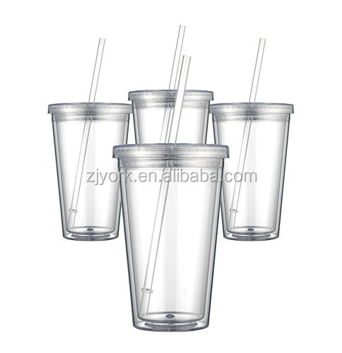 12-PACK 24-PACK clear plastic which is food grade,double wall plastic,coffee mug/cup/tumbler