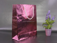 custom branded retail paper bag for gift