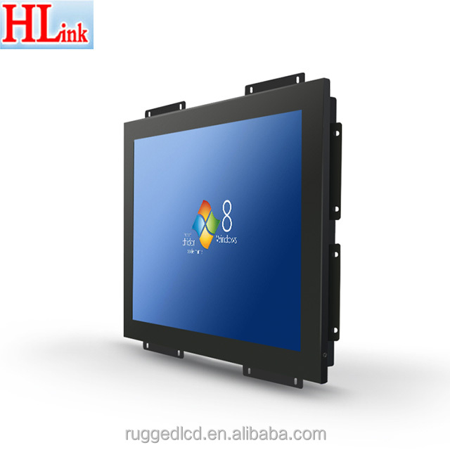 new patent design support OEM factory Direct Supply low cost 17 inch open frame metal frame lcd monitor