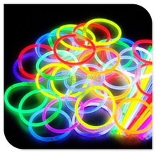 wholesale glow in the dark pigment/powder in silicone bracelet