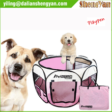 Portable Folding Waterproof Fabric Pet Playpen