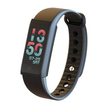 Popular waterproof colourful screen pedometer heart rate smart watch smart bracelet blood pressure supported