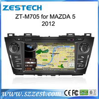 ZESTECH best price OEM Double din car stereo for Mazda 5 2012 Car dvd with SIM car with gps bluetooth TV tuner