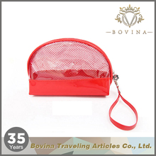 Fashion waterproof travelling clear pvc cosmetic bag