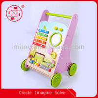 China Activity Cart kids wooden toy