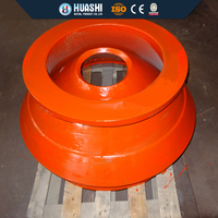 high manganese steel cone crusher concave