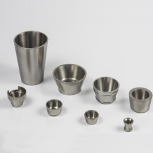 Low Price Of tungsten crucible for glass melting and bowl stamping riveting
