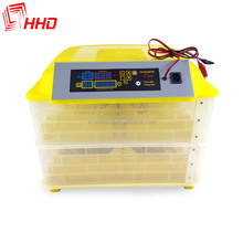 HHD transparent fully automatic 96 egg incubator with CE certificate