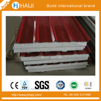 eps concrete sandwich wall panel used for roof installation