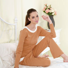 Orange Interlock Sexy Cotton Plus Sizes Cheap Sexy Sleepwear